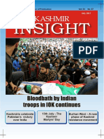 Kashmir Insight Magazine, July 2017