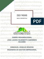 ACT 31 Mapa Conceptual de ISO 9000