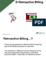 Retro Active Billing
