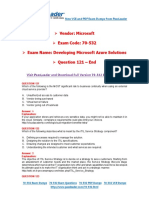 PassLeader 70-532 Exam Dumps (121-End)