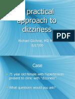 8.17.09 Gilchrist Dizzy Patient