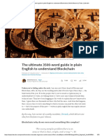 The Ultimate 3500-Word Guide in Plain English to Understand Blockchain _ Mohit Mamoria _ Pulse _ LinkedIn