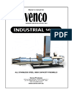 VENCO Industrial Series Pugmill Manual Download v1