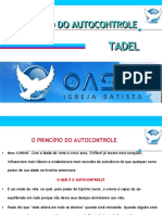 Tadel - o Principio Do Autocontrole