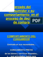 CAP.4 Y 5 Mercado Del Consumidor y Su Comportamiento en El Proceso de Decisión de Compra