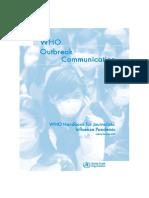 WHO_Handbook for Journalists Pandemic Flu_2005 Edi