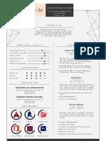 Architect/Interior Designer Resume