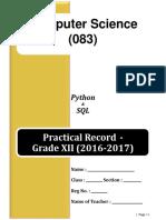 Python Journal