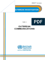 6 Outbreak Communications 110309