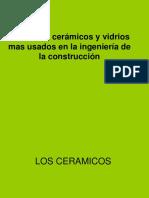 Unidad VI-b Ceramicos y Vidrios