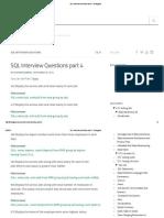 SQL Interview Questions Part 4 - Testingpool