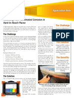 Application Note Assessing Flow Accelerated Corrosion With Pulsed Eddy Current