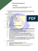 Peraturan Badminton MSSS 2017