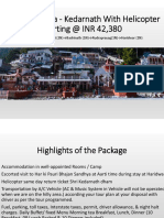 Do Dham Yatra - Kedarnath with Helicopter with SOTC Holidays
