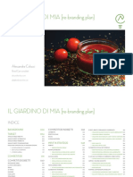 Il Giardino di Mia - Rebranding Plan - Indice [ITA]