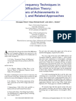 Diffraction Theory 50 Years of Achievements in GTD PTD Etc