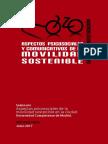 Informe Aspectos Psicosociales Movilidad Sostenible Junio 2017