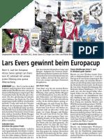 Botschaft 2017 19. Juli - VC Leibstadt -Lars Evers Gewinnt Beim Europacup