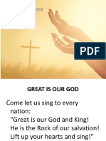 Holy Spirit Mass Songs