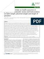 Fekete_Effect of Folate Intake on Health Outcomes in Pregnancy a Systematic Review and Meta-Analysis on Birth Weight, Placental Weight and Length of Gestation