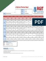 BSB60215 - Timetable -2017 July Intake