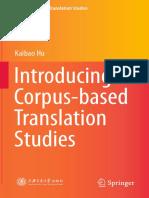 Introducing Corpus-based Translation Studies