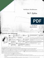 Zyklus - Stockhausen