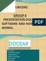 DOCEAR PRESENTATION