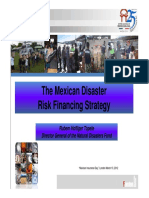 Mexico Disaster Risk Financing