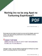 4 Spiritual Laws - Tagalog