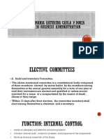 Chapter 4-Elective Committees  and Chapter 5-COOPERATIVES DEVELOPMENT PROGRAM