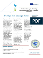language games newsletter 2