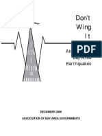 Don't Wing It-Airports and Bay Area Earthquakes 2000