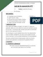 Informe Grupal de La Exposición Nª1