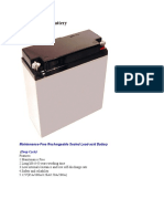 5 Solar Charge Battery