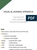 Visual and Lacrimal Appratus