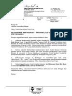 Surat Pelaksanaan Pentaksiran 1 2017