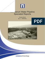 Old Sarum Pipeline Specialist Report - Human Bone