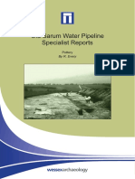 Old Sarum Pipeline Specialist Report - Pottery