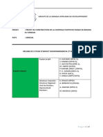 Sénégal - Projet de Construction de La Centrale Photovoltaïque de Bokhol Au Sénégal – Résumé EIES
