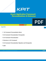 OAF Personalization