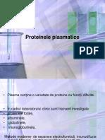 Curs 3 Proteinele Plasmatice