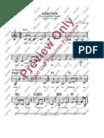 The Fools Who Dreams Music Sheet Violin