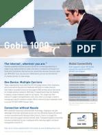 Gobi 1000 Product Sheet