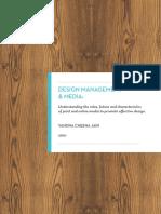 Design Management & Media