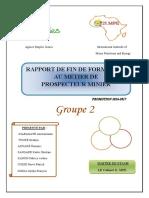 Rapport de Fin de Formation PDF
