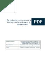 Cálculo del contenido en azúcares totales Metodo bertrand.pdf