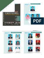 Buku Pedoman Fakultas MIPA 2015 (PAGE 81)