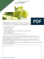 7 Recetas de Jugos Verdes Super Saludables