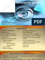 Seminar Paper on Iris Technology 2017